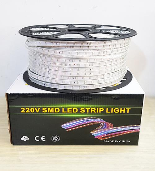 Cuộn dây đèn led 2835 hai hàng bóng - 100M