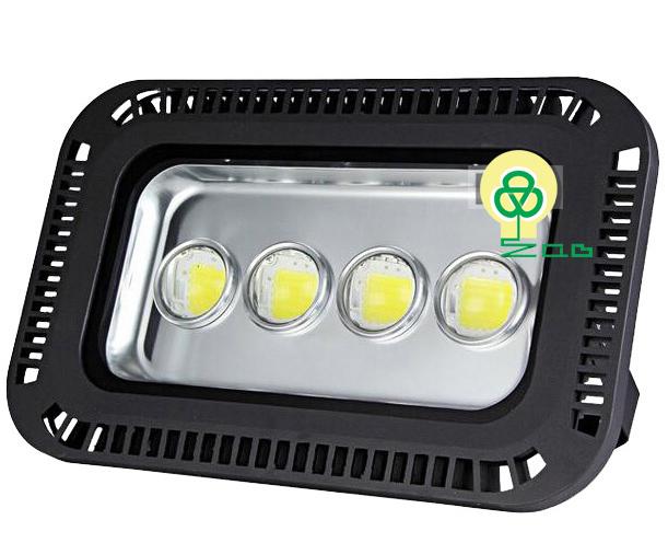 Đèn Pha LED 200w Lúp Đen