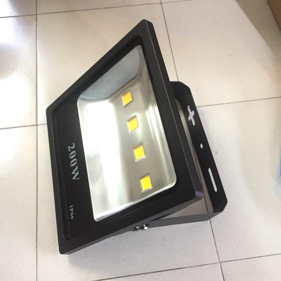 Đèn pha led 200w vỏ đen ip66